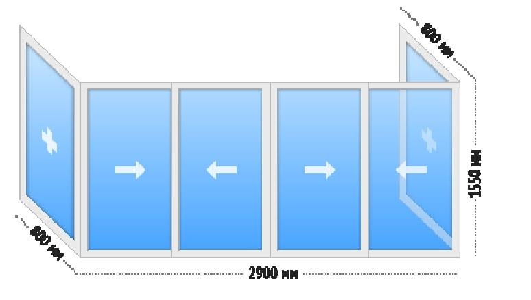 Алюминиевое остекление балконов - узнать цены остекление алю.
