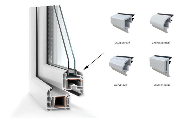 Пластиковые окна Rehau Delight-Design, штапики