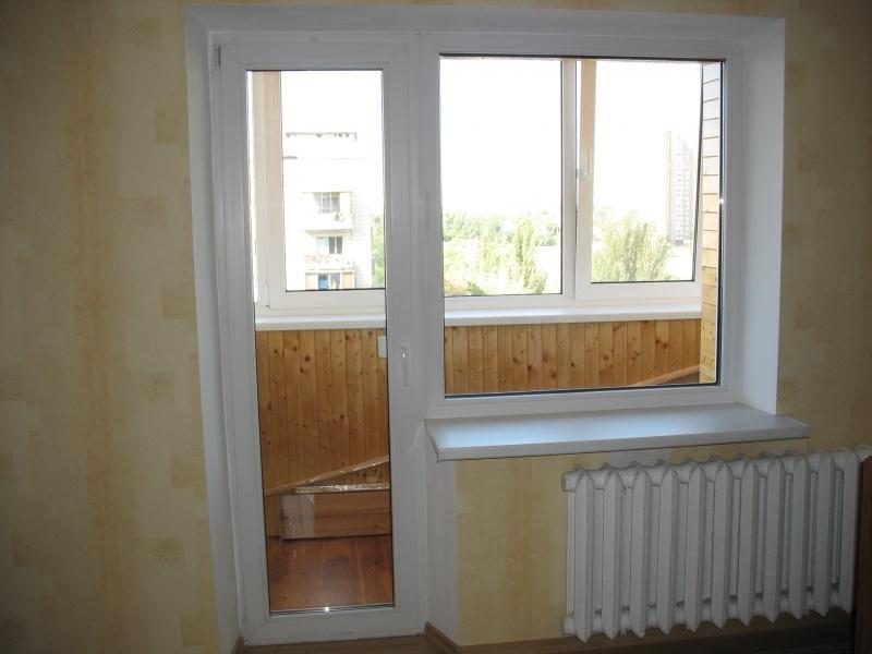 Пластиковое окно с балконной дверью цена заводы пластиковых окон в ростове на дону